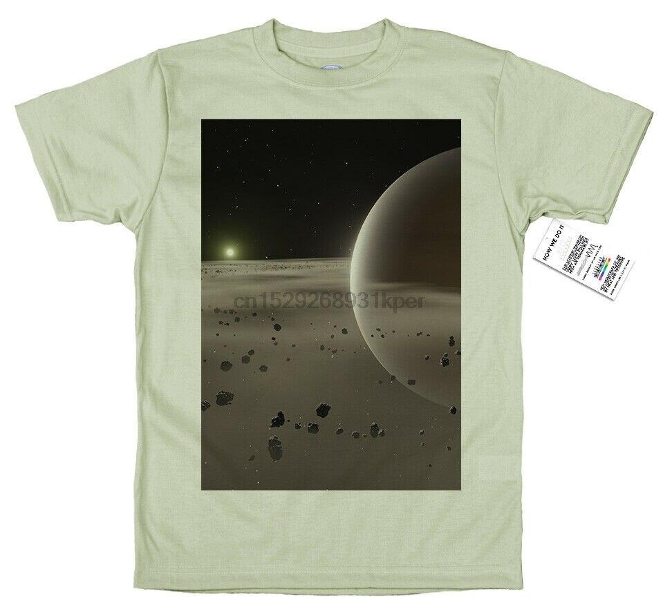 Diseño de camiseta de Saturno
