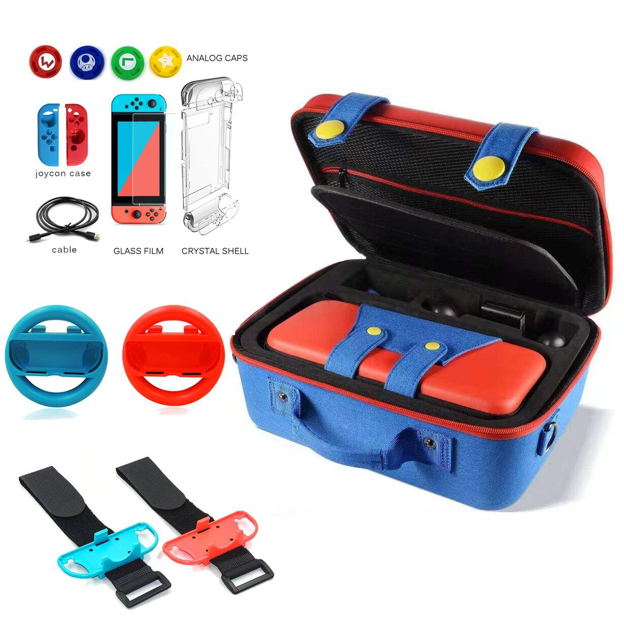 Multi-funktion Tragetasche für Nintend Schalter Konsole EVA Lagerung Spiel Fall für Nintendo Schalter Pro Freude-con zubehör