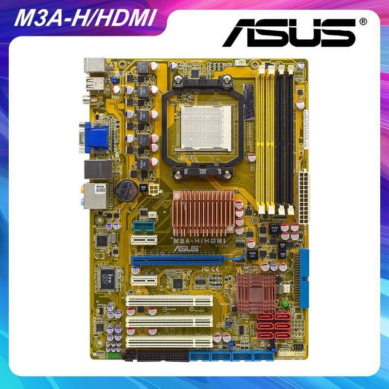 Review ASUS M3A-H/HDMI Socket AM2+ AMD 780G Original Desktop PC Motherboard DDR2 Phenom FX/Athlon64 Cpus PCI-E X16 VGA HDMI SATA II ATX