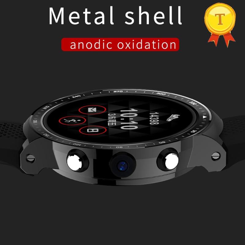1,5 pulgadas grande y completo pantalla táctil Android GPS WiFi Bluetooth reloj inteligente 3G SIM rastreador deportivo de ritmo cardíaco reloj pk x5 aire x7