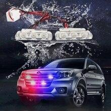 Światła policyjne stroboskop LED światła migacz fso auto flash policji migacz stroboskopy światło stroboskopowe policja led światła stroboskopowe światło flasher