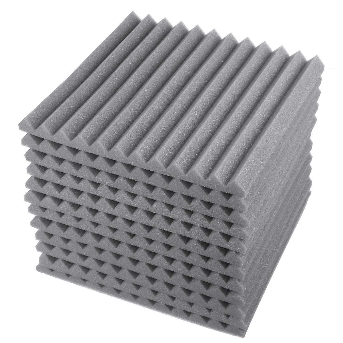 16 шт., звукопоглощающие панельные губки для звукопоглощения