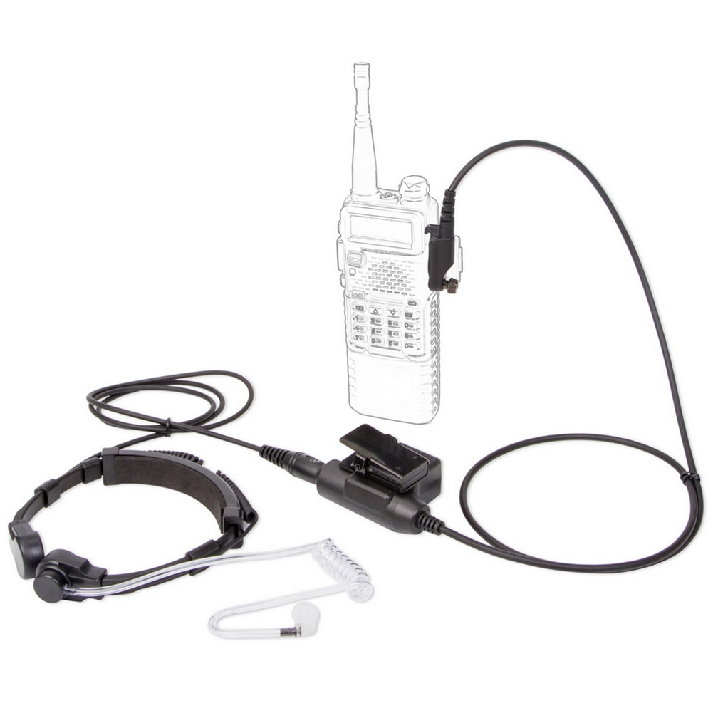 High Quality U94 Tactical Telescopic Throat Control Headphone PTT Headphones for Hytera PD680 X1P Walkie Talkie Headset