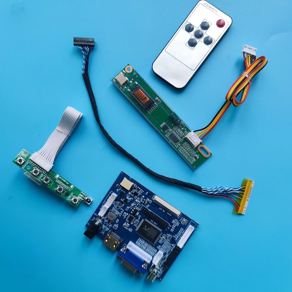 لوحة تحكم لـ LP154WX5 TL 1280x800 ، 30 دبوس ، HDMI ، VGA ، شاشة 2AV ، DIY ، LVDS LCD ، AV ، جهاز تحكم عن بعد ، لوحة تحكم ، شاشة لوحة القيادة