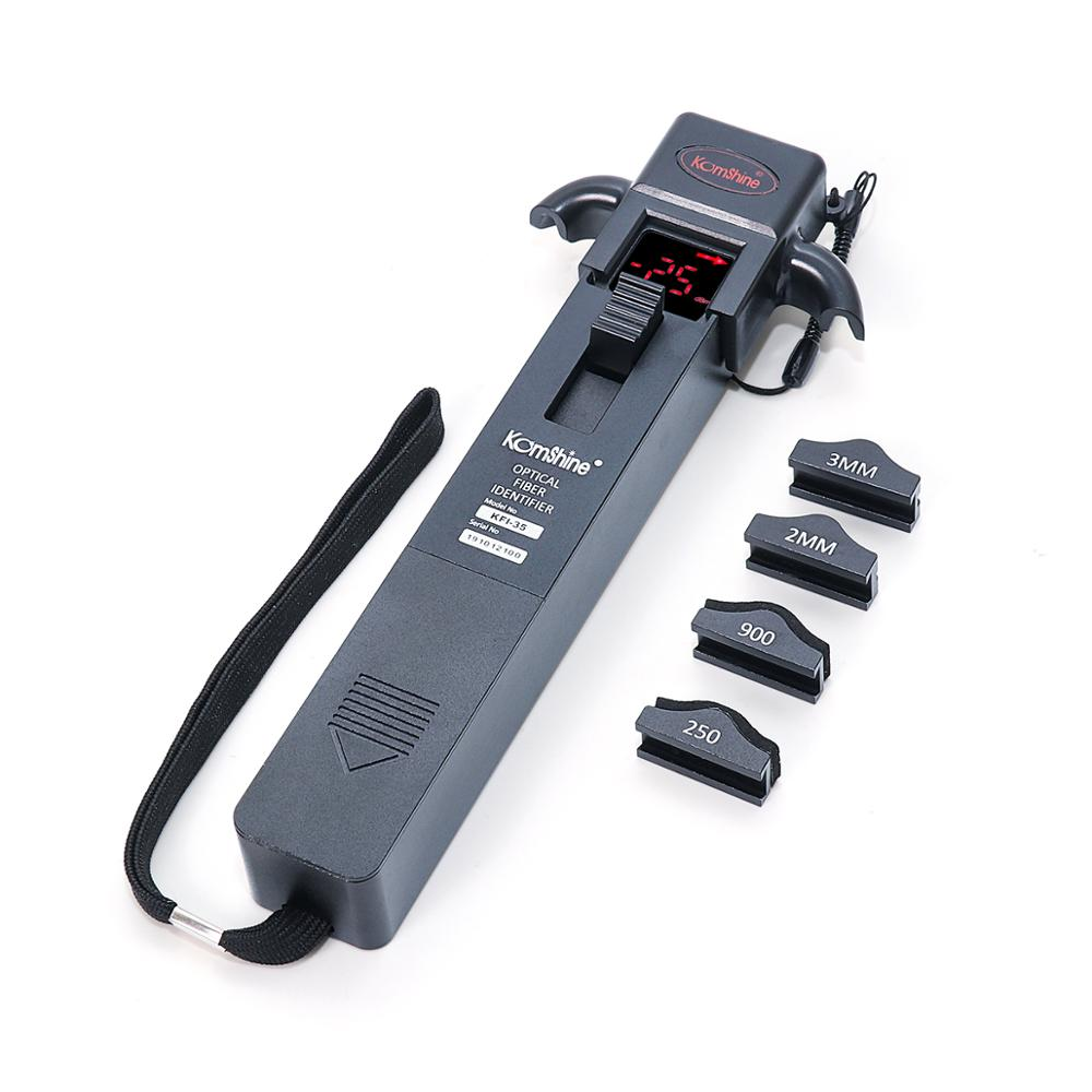 Optical Fiber Traffic Identifier Fiber Optic Signal Field Identification Tool Equiped with Sunshade and Adapter