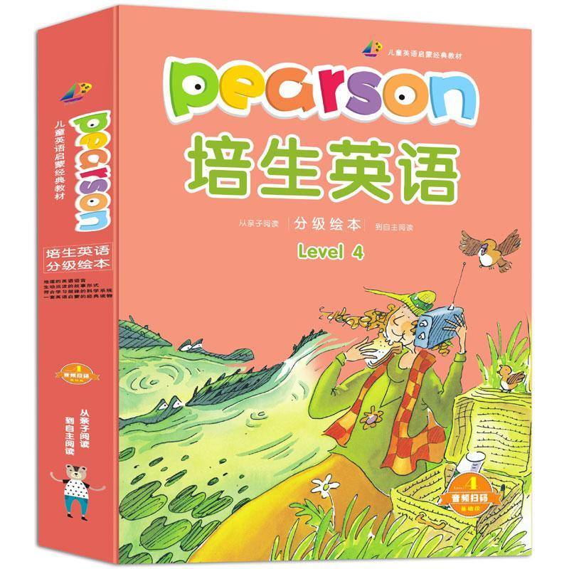 Фото - Pearson English Graded Reading Level1-4 Preschool Preparatory Level Children's Ladder Reading Enlightenment English Picture Book sowton c kennedy a unlock level 4 reading writing critical thinking student s book english profile b2