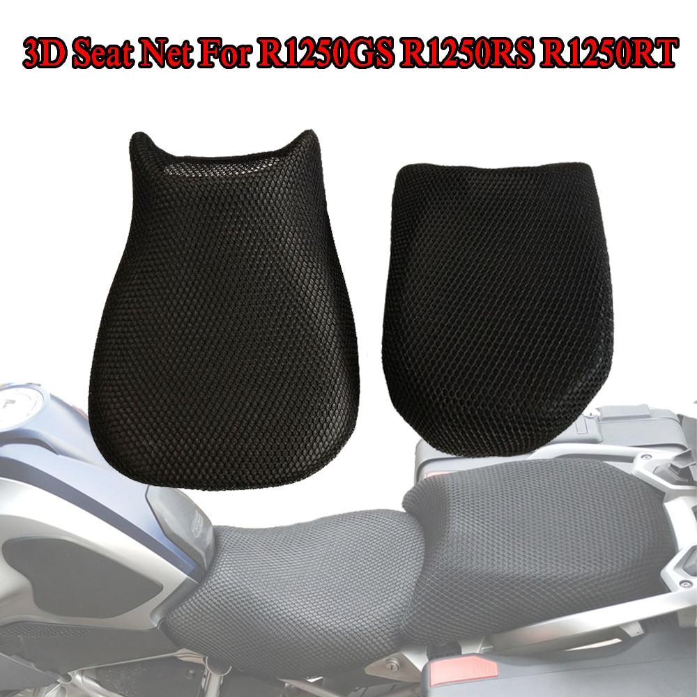 Motorcycle Mesh Seat Cover Cushion Guard Waterproof Insulation Breathable Net For BMW R1250GS ADV R1250RT R1250RS 2019 GS1250