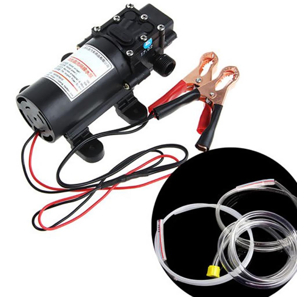 Universal 12V 60W Öl Flüssigkeit Einfangen Pumpe Extractor Transfer Pumpe Auto Motor