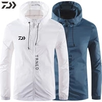 2021 daiwa fishing clothing breathable men fishing shirts waterproof long sleeve auti uv sunscreen quick drying fishing jacket