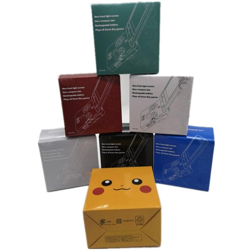 Новые упаковочные коробки для игровой консоли Game Boy Advance SP для G-B-A SP