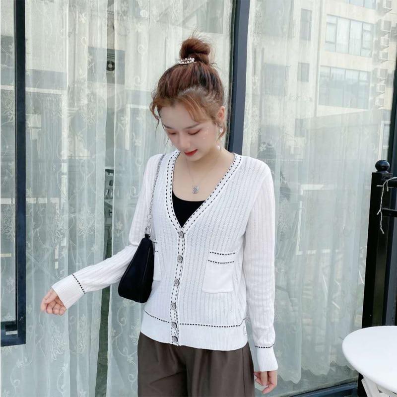 10 PCS Wholesale Women  Elegant Long Sleeve cardigan Andy wool Sweater New Cardigan Soft Flexible Knitted warm sweaters enlarge
