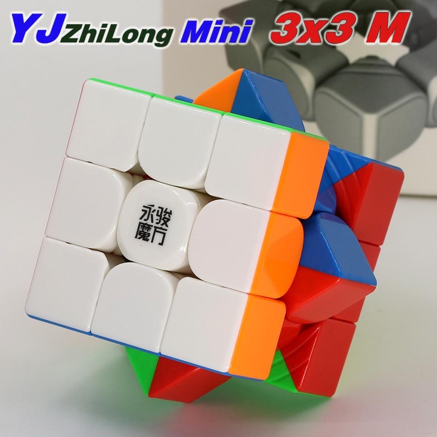 yongjun zhilong mini cubo magnetico 3x3x3 ima magico brinquedo educacional profissional
