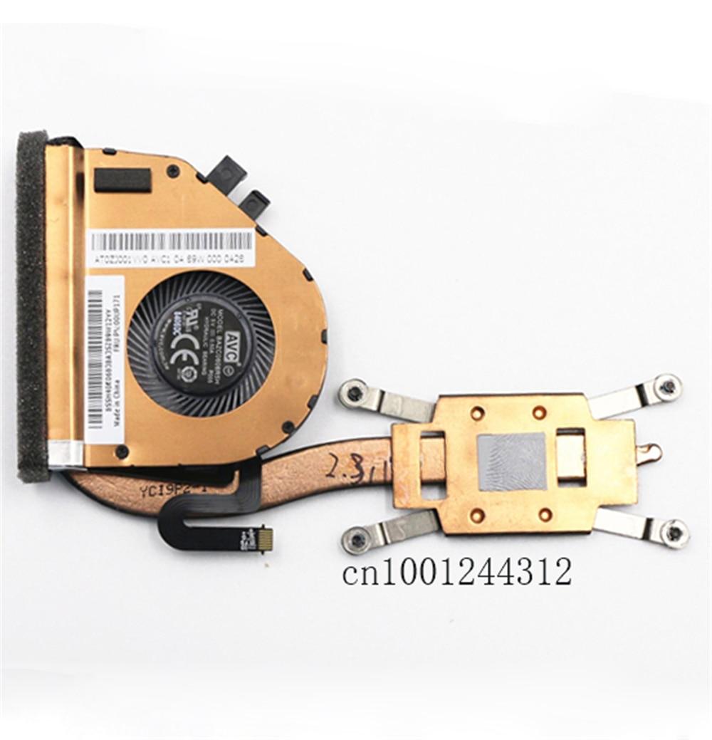 Novo original para o portátil lenovo thinkpad x260 cpu dissipador de calor ventilador refrigeração 00up173 00up171