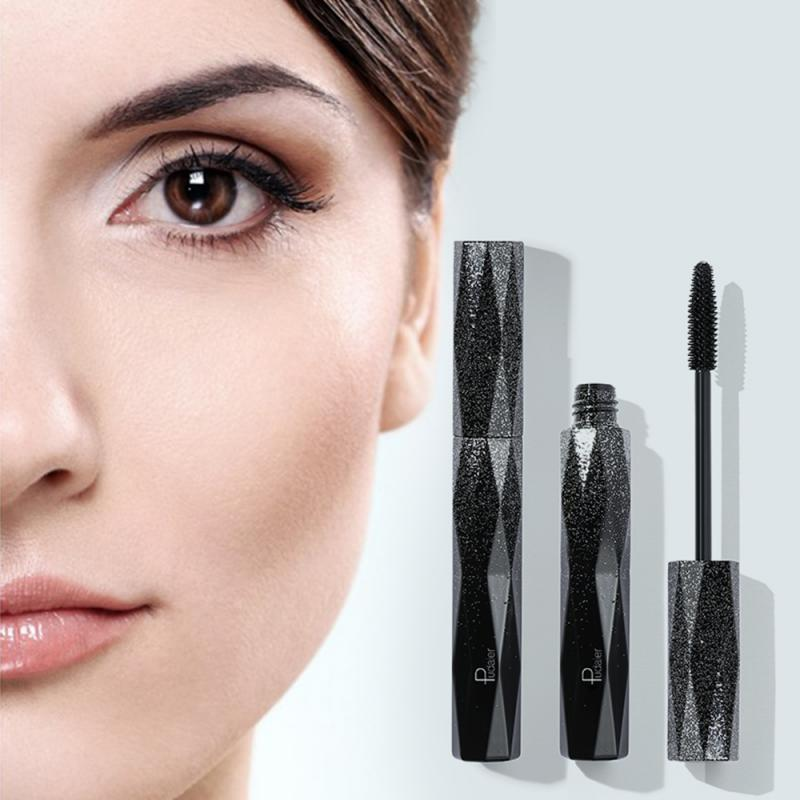 1pc New Hot Mascara Natural Lasting Waterproof Sweat-proof Slender  Curls Easy To Brush Easy To Remo