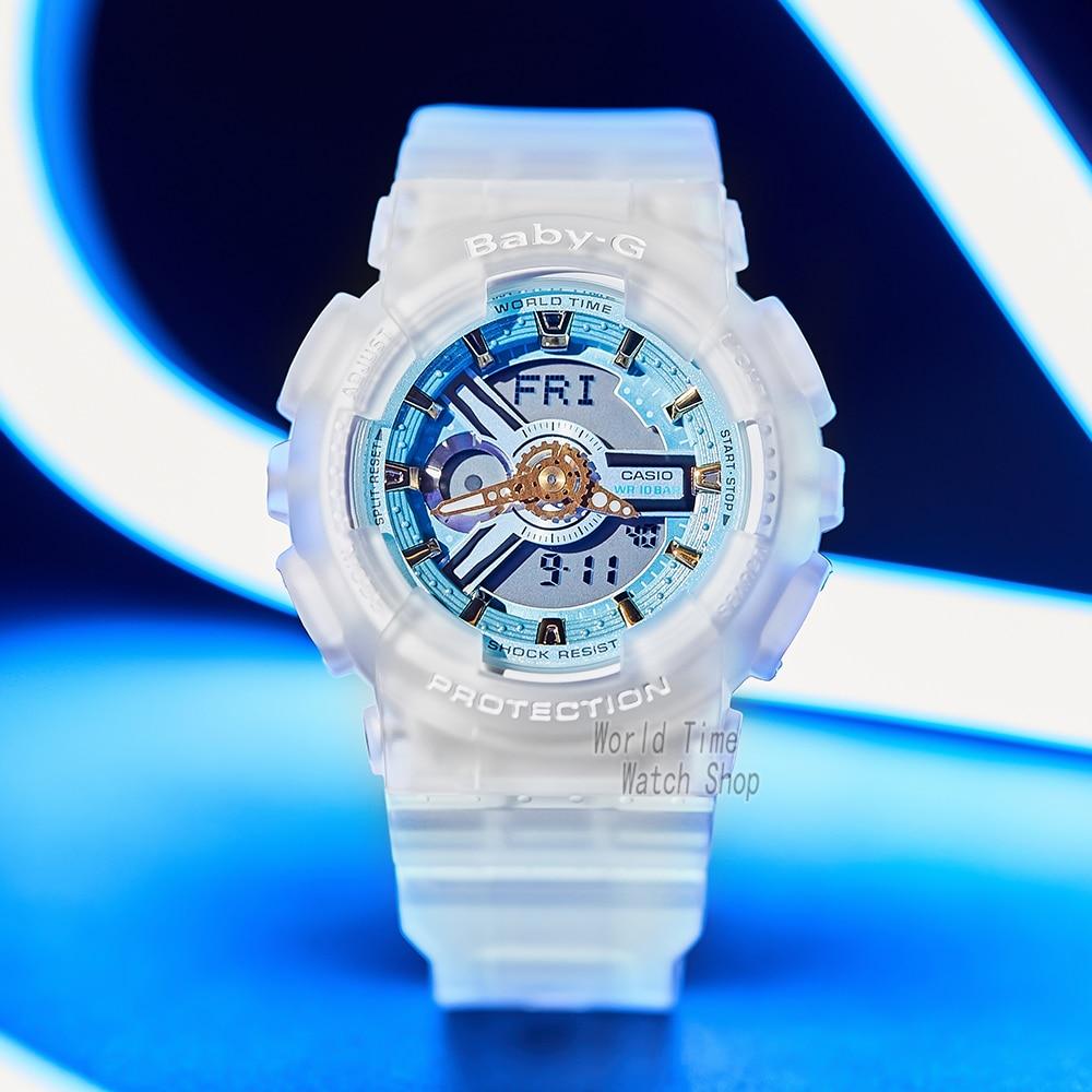 Casio watch baby-g women watches set luxury brand ladies watch Transparent ice toughness limited woman watch Relogio Masculino enlarge