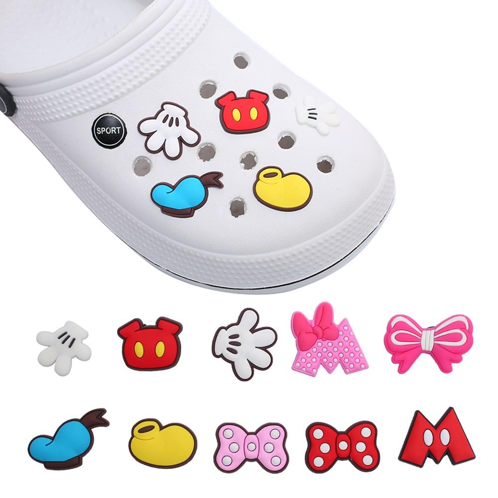 Новинка, одиночная распродажа, 1 шт., подвески для обуви из ПВХ, аксессуары для обуви, украшение для обуви Croc JIBZ/браслеты, для детской вечеринк...