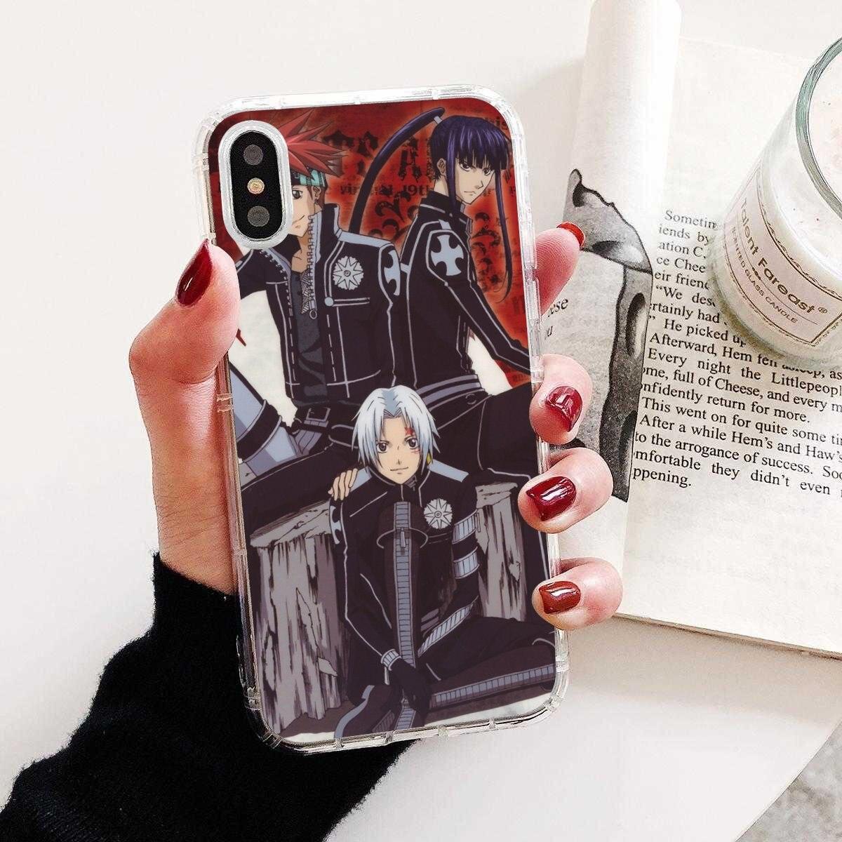 Anime D Gray man Luxo Sell Silicone Caixa Do Telefone Para Huawei Nova 2 3 3i 2i Y6 Y7 Y9 Prime Pro GR3 GR5 2017 2018 2019 Y5II Y6II