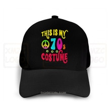 Magnifique cest mon 70S Costume Groovy paix Halloween t-shirt casquette de Baseball