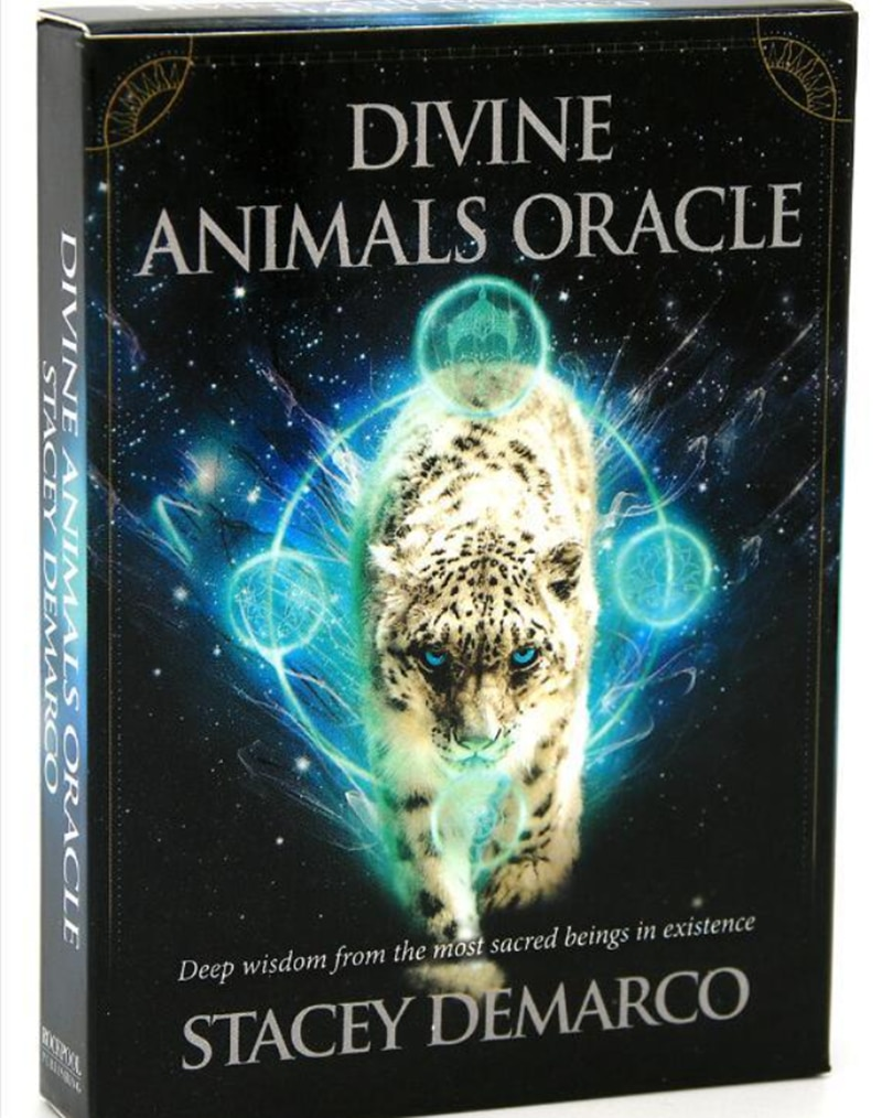 The Divine Animals Oracle Tarot Altar Divination Tarot Oracle Cards For Stacey Demarco Card Board Game Accessories kipper fortune telling deck altar divination tarot oracle cards for card board game accessories