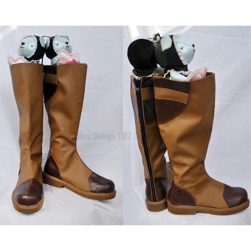 Fire Emblem Priscilla Cosplay Shoes Boots Superhero Halloween Carnival Party Costume Accessories