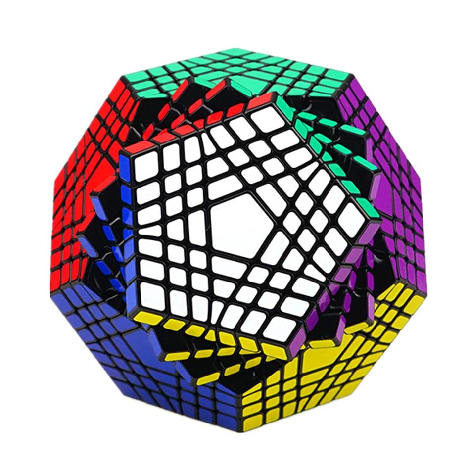 ShengShou-المكعب السحري Teraminx 7x7 ، ألعاب تعليمية ، أحجية Dodecahedron 7x7 ، Shengshou WuMoFang