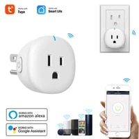 10A US Standard WiFi Smart Plug Outlet Tuya Remote Control Home Appliances Works With Alexa Google Home
