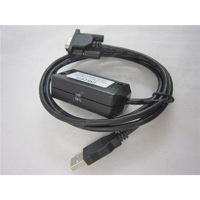 Cable de conversión USB-RS232, cable de programación de USB-CIF31 para OMRON PLC, CS1W-CIF31, compatible con Win7 y Win8