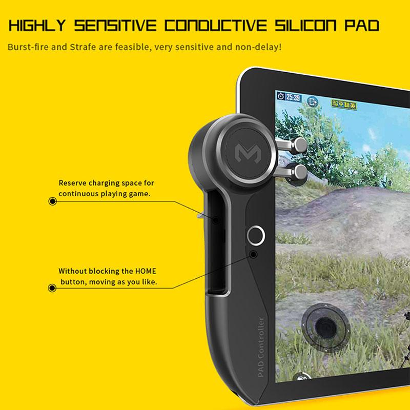 Mobile PUBG Game Controller For Ipad Tablet Six Finger Game Joystick Handle Aim Button L1R1 Shooter Gamepad Trigger enlarge