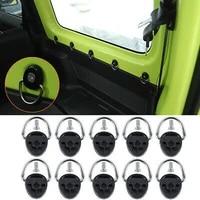 10x car tie down d ring buckle for suzuki jimny 2019 2020 trunk cargo area interior accessories car clips