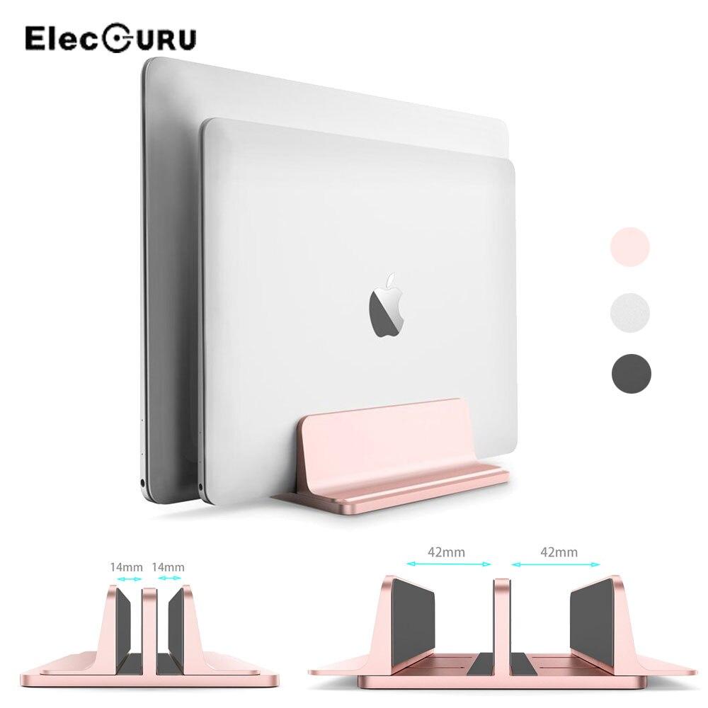 Soporte Universal para tableta portátil soporte Vertical ajustable de aleación de aluminio soporte para MacBook Air/Microsoft Surface Pro