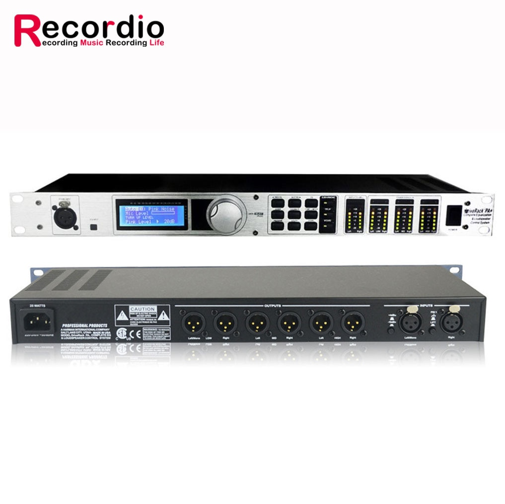 GAX-PA+ PA 2 in 6 out Professional stage digital audio processor Reverb equalizer enlarge
