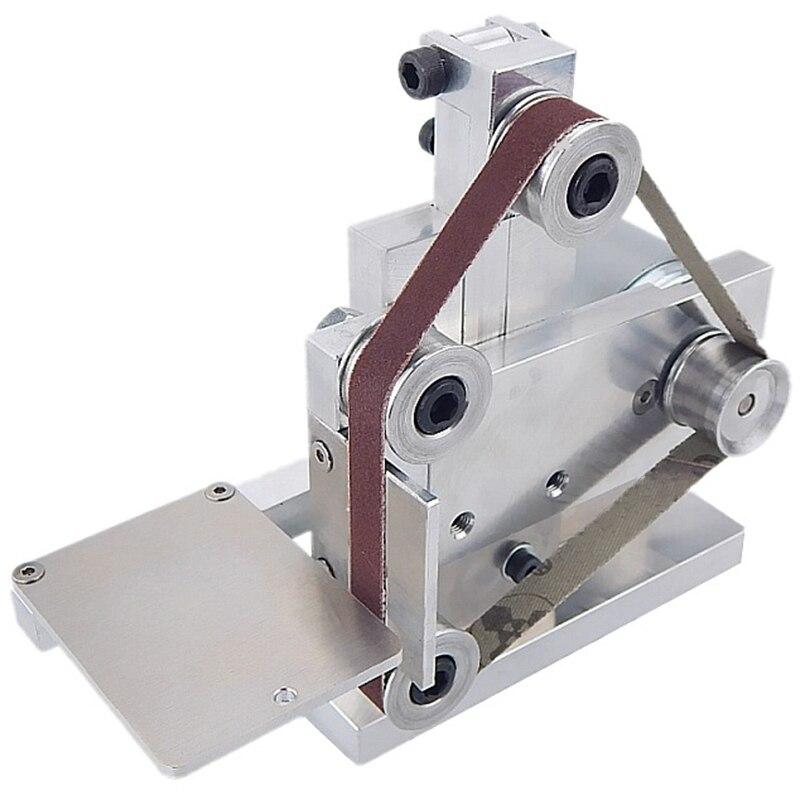 Enchufe de la UE máquina de la correa pequeña DIY máquina de pulir la Mesa de la máquina de pulir de ángulo fijo