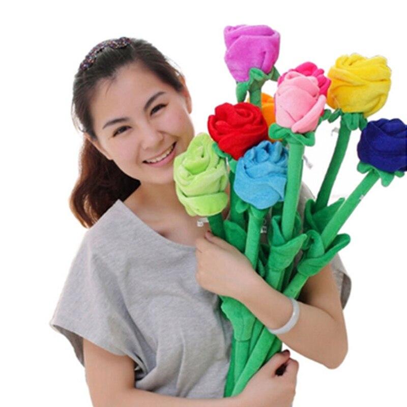 Плюшевая игрушка, Мультяшные детские плюшевые игрушки для детей, украшение для дома, полипропиленовое хлопковое растение, подарок для праз...