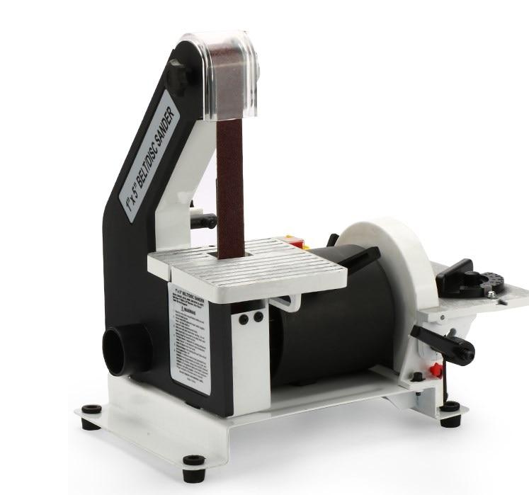 """Belt Sander 1"""" Bench Electric Belt Sander 5"""" Disc Grinder 400W Sander For Wood, Plastic, Metal"""