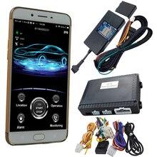 Cardot-contrôle universel téléphone intelligent   2g, compatible, bouton de démarrage original, système dentrée sans clé, alarmes de voiture