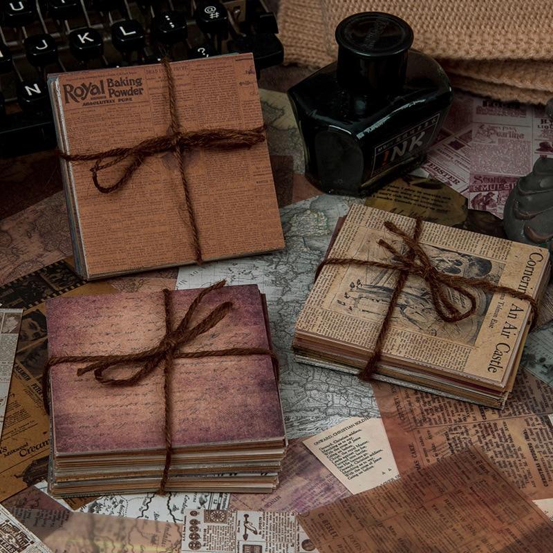 paquete-de-papel-retro-para-album-de-recortes-coleccion-de-periodico-antiguo-vintage-diario-artesanal-de-arte-60-uds