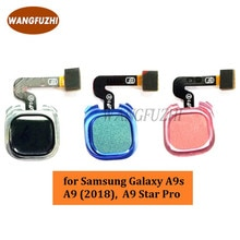Original Fingerprint Scanner Flex Cable Replacement Repair Part for Samsung Galaxy A9 (2018), A9 Sta