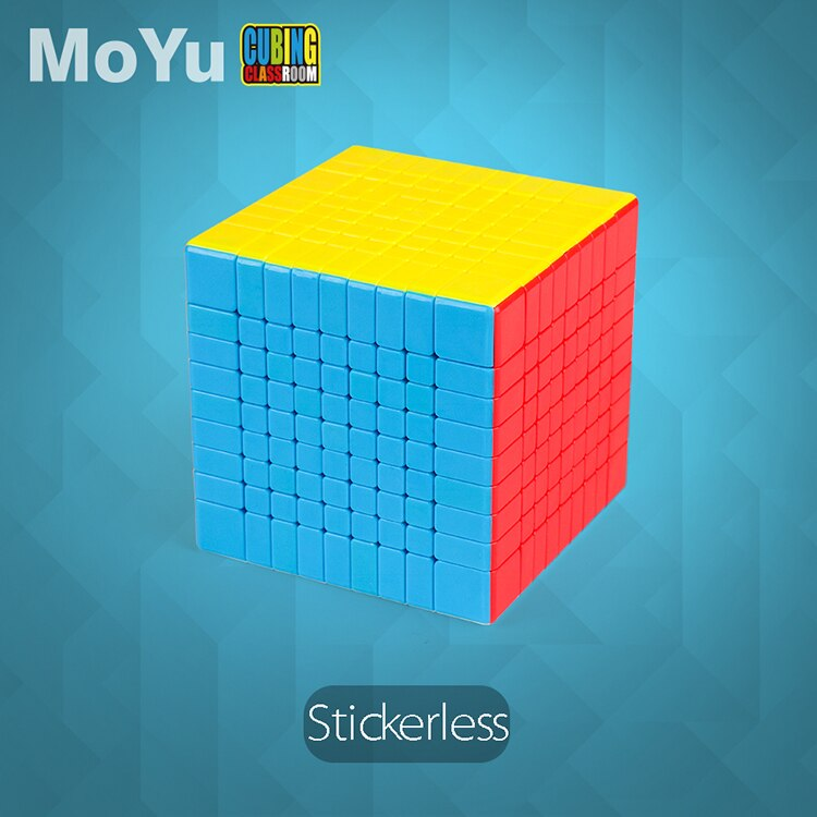 MofangJiaoshi MoYu MF9 Stickerless Cubes Meilong 9x9x9 Cubes Magic 9 Layers Shape 9x9 Speed Puzzle Cubo Educational Toy Kid Game