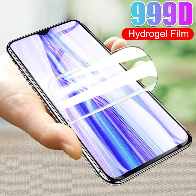 Hydrogel Film For Xiaomi POCO X3 NFC F1 F2 Pro Screen Protector Mi Mix 2 2S 3 Mi8 SE 8 A2 Lite 6 6X