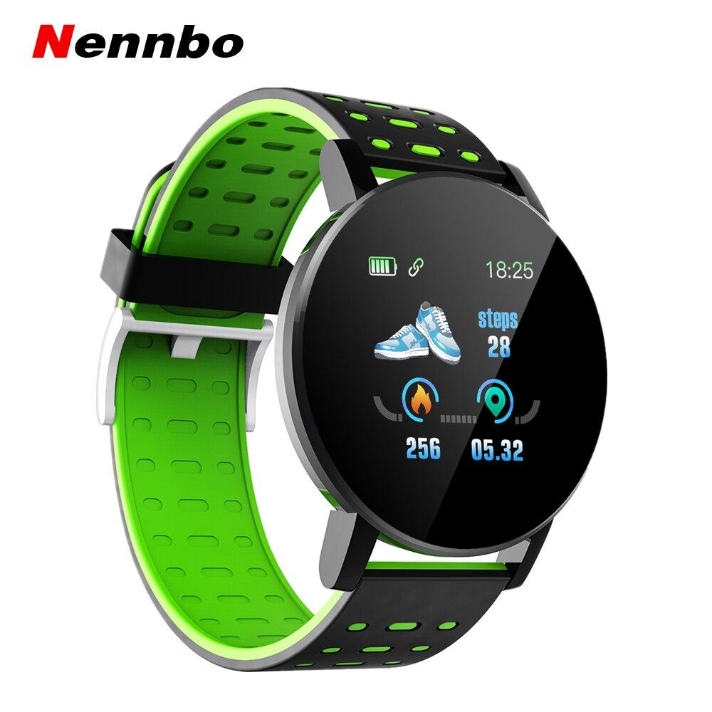 ¡Novedad de 2020! Reloj inteligente Bluetooth para hombres, presión arterial, reloj inteligente para mujeres, reloj deportivo, banda de seguimiento para Android IOS, WhatsApp