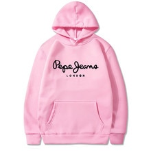 Ladies Hooded Sweatshirt, Fashion Label, Letter Print, Warm Style, Winter, 2021