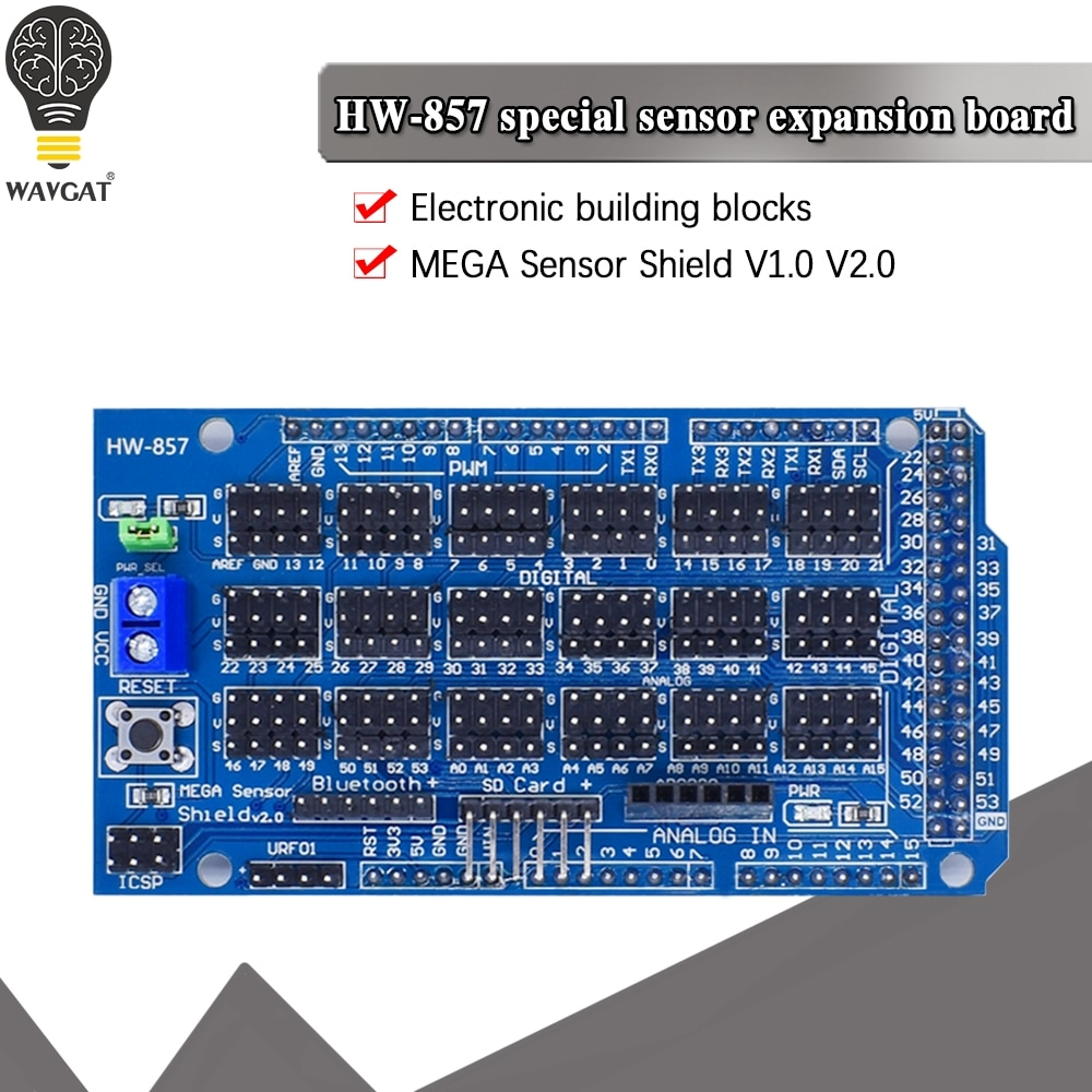 Для Arduino датчик MEGA Shield V1.0 V2.0 специальна