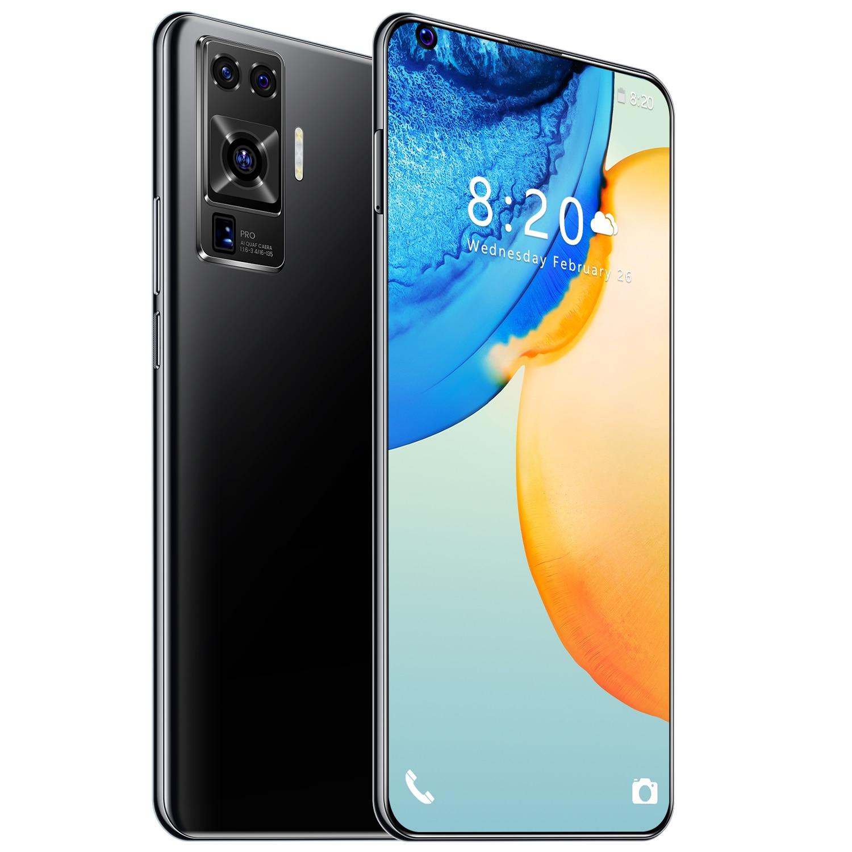 هاتف ذكي X50 Pro 512G Global Connect بشاشة 7.2 بوصة كبيرة 6800mAh فتحة للبطاقات المزدوجة