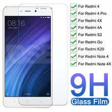 Закаленное стекло 9H премиум-класса для Xiaomi Redmi Note 4 4X Pro, защита для экрана Redmi 4 Pro 4X 4A S2 Go K20, защитное стекло, пленка, чехол