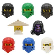 Jy508 Ninjagoe figure Loyld Cole Zane kai jay Carmadon avec tornade cristal moto brique enfants jouets compatible bloc enfant jouets