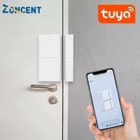 Detecteur intelligent douverture fermeture de porte  wi-fi  Tuya  alarme de securite domestique  Compatible avec Alexa Google Home  application Tuya