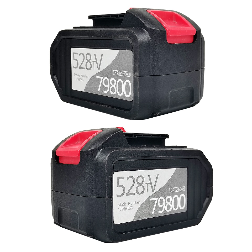 528TV Lithium Battery Li-ion Battery Power Tools Rechargeable Drill For Cordless Screwdriver Battery Electric Drill недорого