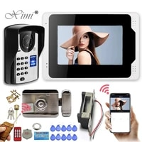 smart phone7        WIFI wireless call video intercom for home Monitor entry doorphone Doorbell with remote control camera Outdoor