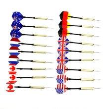 1Pcs Professional Steel Tip Dart Set Needle Darts 18g Steel Tip Darts Copper Plating Needle Dart Nice High Quality Throwing Game