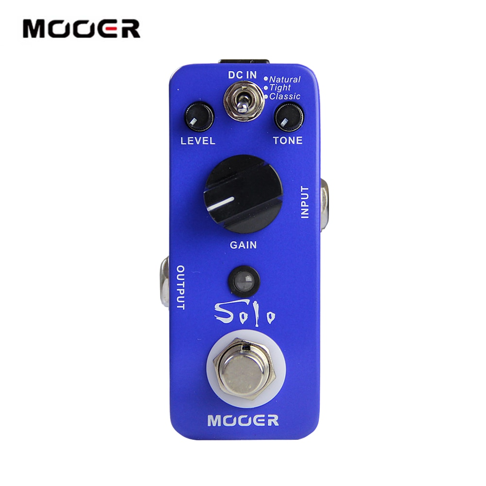 Mooer Guitar Distortion Pedal Distoro Guitarra Effector Mds5 Solo Guitar Pedal Natural Tight Classic Sound Ultra Sound Loss enlarge